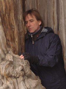 Stéphane Habuda au cœur de l'arbre. Thérapie. Wùo Tai. Le Vigan et Montpellier